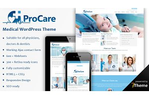 Procare - Medical WordPress Theme