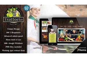 Trattoria - Rustic Restaurant Theme