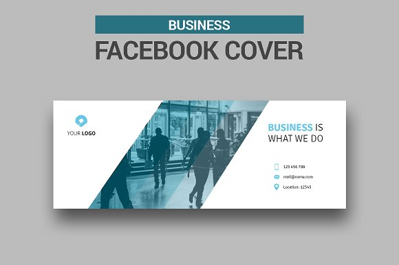 Business Facebook Cover #003