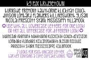 KG PDX Bridgetown Font