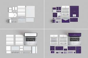 10 Branding Stationery Mockups
