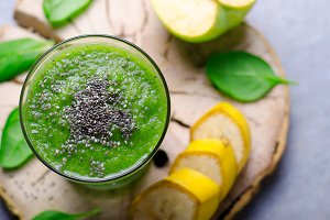 Green Smoothie, Healthy Drink