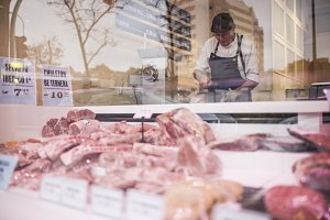 Old butcher shop