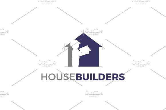House Builder Logo Template