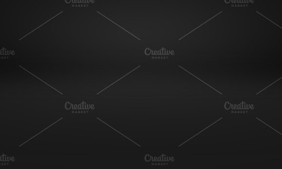 Black Luxury Gradient With Studio Room Background