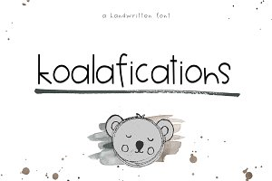 Koalafications - Handwritten Font
