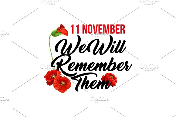 Vector Card For Remembrance Day