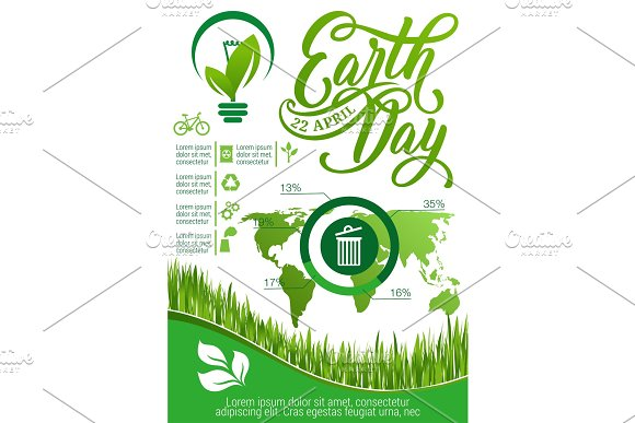 Ecology And Environment Protection Infographic
