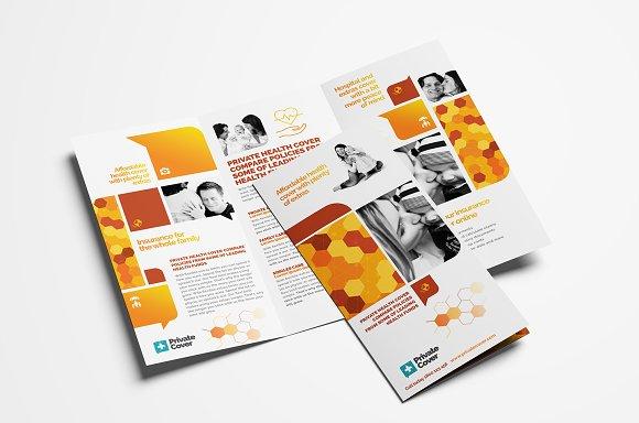 Health Insurance Brochure Template Brochure Templates Creative - Insurance brochure template