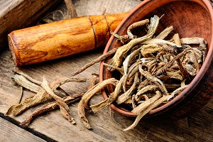 Medicinal root inula