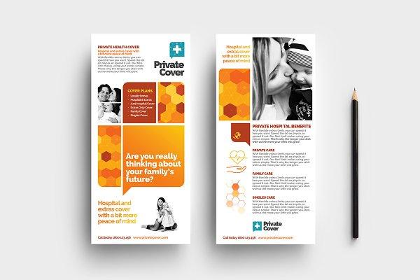Health Insurance DL Card Template