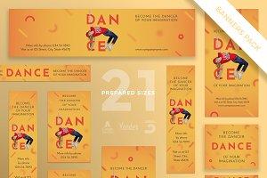 Banners Pack | Dancing School