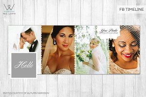 FB Wedding template cover