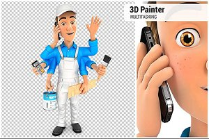 3D Painter Multitasking