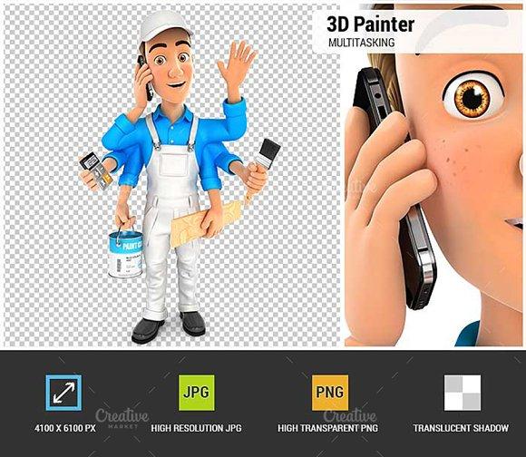 3D Painter Multitasking