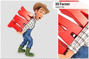 3D Farmer Heavy Tax
