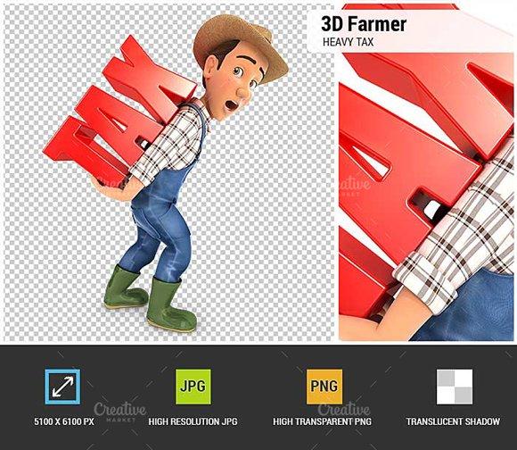 3D Farmer Heavy Tax