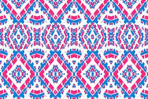 Colorful Folk Style Pattern