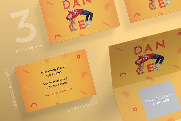 Business Cards Dancing School
