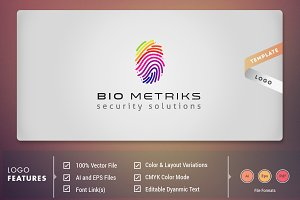 BioMetriks - Logo Template