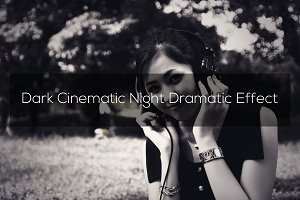 Dark Cinematic Night Dramatic Effect