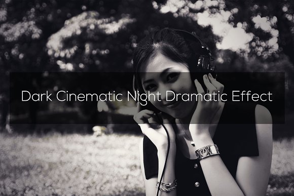 Dark Cinematic Night Dramatic Effect
