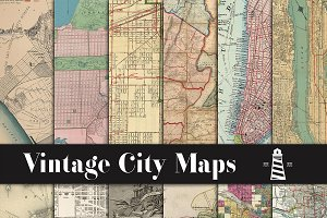 City Maps Backgrounds