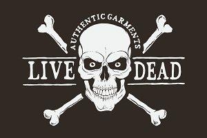 Live dead logo