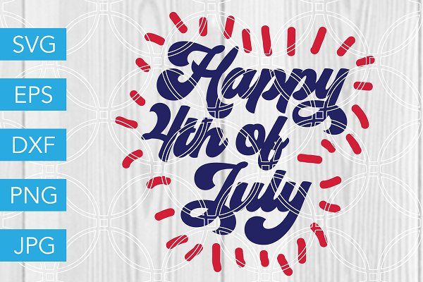 4th Of July Svg Bundle July Fourth Pre Designed Photoshop Graphics Creative Market