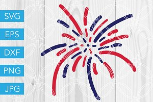 Firework SVG 4th of July SVG