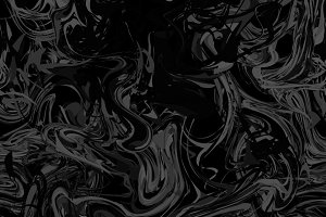 Black paint splash on dark