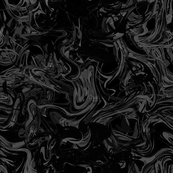 Black Paint Splash On Dark