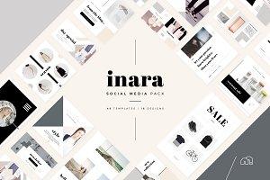 Social Media Pack - Inara