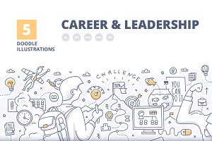 5 Career & Leadership Illustrated Co