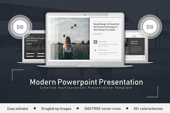 Modern Clean Powerpoint