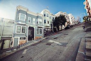 houses city street San Francisco