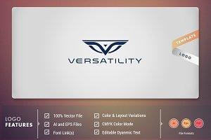 Verstality - Logo Template