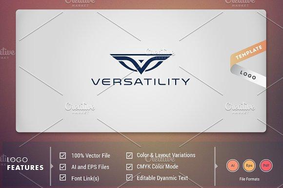 Verstality Logo Template
