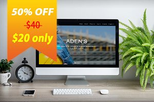 Adens  – Responsive HTML5 Template