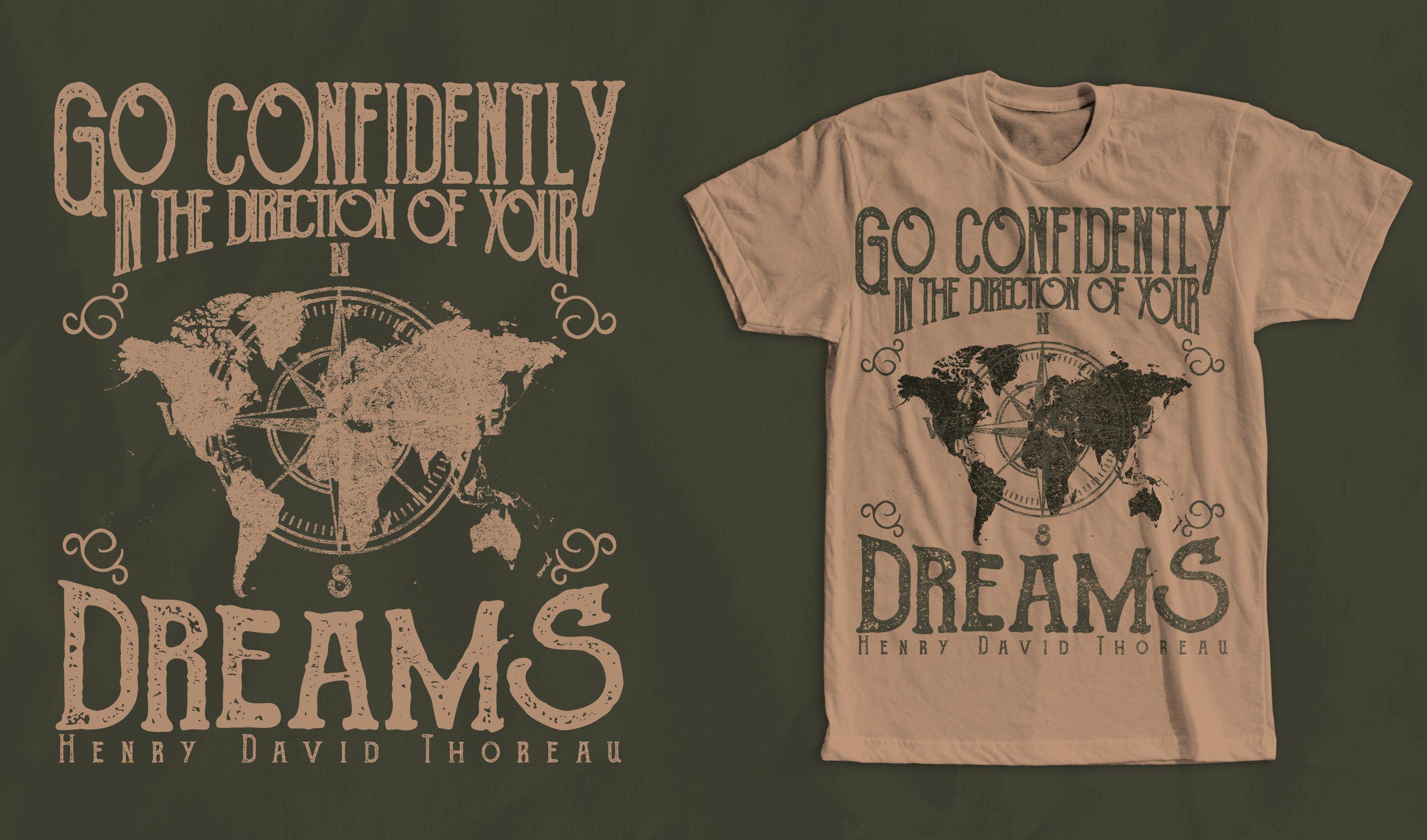 Vintage Quote T Shirt Design Illustrations Creative Market