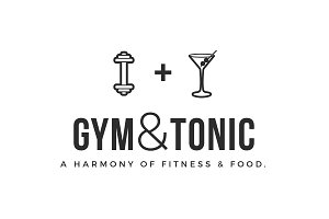 Gym / Fitness / Health / Food Logo