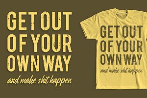 Motivational Quote Tshirt Design