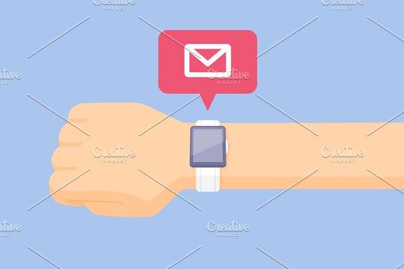 Smartwatch Notification