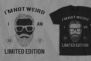 Hipster Vintage T-shirt Design