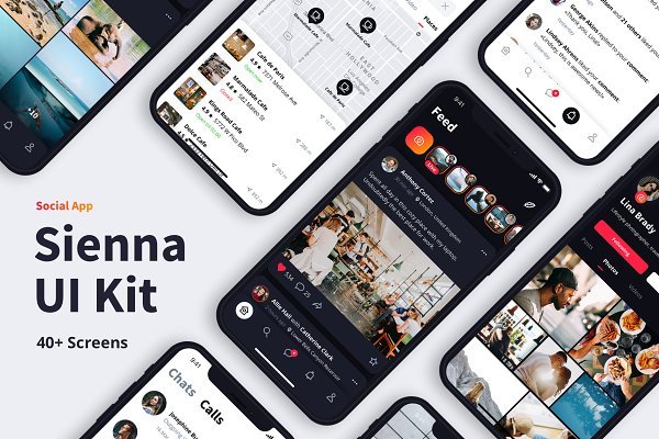 Web Elements: Panderium - Sienna iOS UI Kit