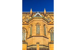 St Mary Cathedral in Sydney - Australia