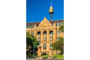 Land Titles Office, a sandstone Neo-Gothic building in Sydney