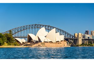Sydney Opera House and Harbour Bridge - Australia