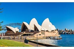 Sydney Opera House, a UNESCO world heritage site in Australia