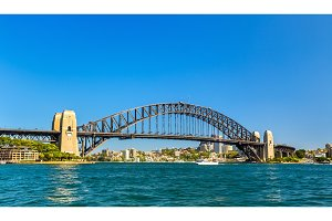 Sydney Harbour Bridge, built in 1932. Australia